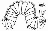 Caterpillar Coloring Pages Hungry Very Printable Colouring Butterfly Sheet Sheets Printables Getcoloringpages sketch template