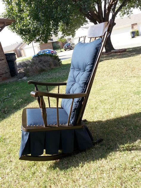 antique platform glider rocking chair downtown oklahoma