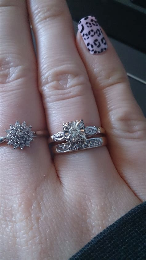 small center and or rings weddingbee