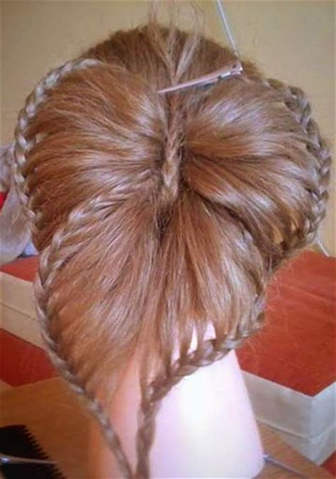 diy butterfly braid hairstyle