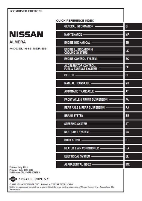 Original Jdm Manuals Vet Nissan Forum