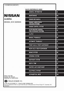 Nissan Almera N15 User Wiring Diagram