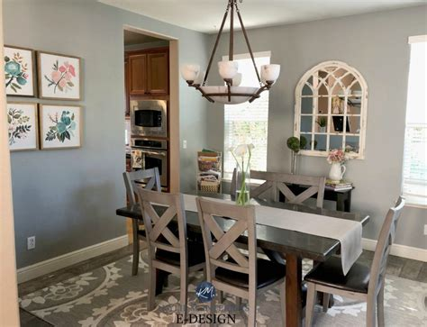 sherwin williams ellie gray best gray paint colour with undertones in dining room m