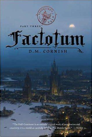 factotum monster blood tattoo   dm cornish