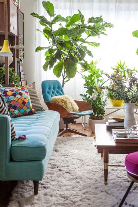 referans sala de estar vintage  colorida arquivo