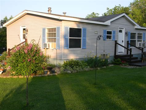 Ideas For Mobile Homes by Landscaping Ideas For Mobile Homes Mobile Manufactured