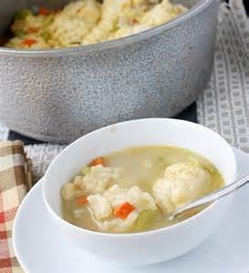 Chicken Stew and Dumplings