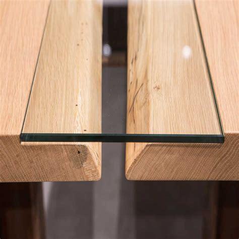 Tisch Holz Glas by Esstisch Marit