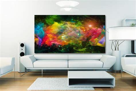 papier peint trompe l oeil pour chambre tableau contemporain turbulence izoa