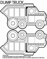 Coloring Dump Truck Trucks Loader Printable End Coloringpagebook Construction Sheets Garbage Advertisement Visit sketch template