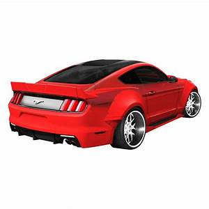 Duraflex® - Ford Mustang 2015-2017 Grid Style Fiberglass Wide Body Kit