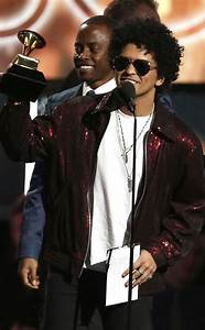 Bruno Mars Wins Record of the Year, Thanks Longtime ...