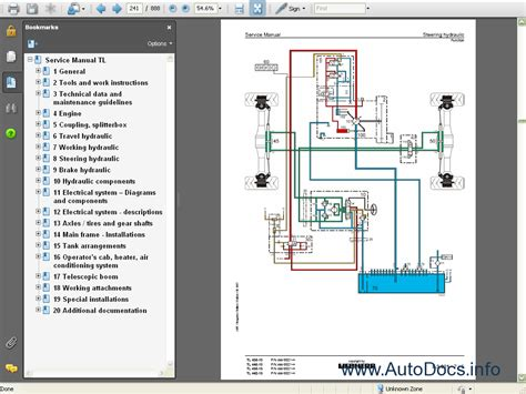 Peugeot 206 Wiring Diagram Software by Liebherr Tl Series Telescopic Handler Service Manual