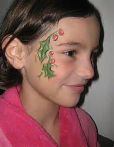 Kids Christmas Face Painting