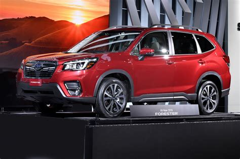 2019 Subaru Forester Unveils Driverfocus Package To