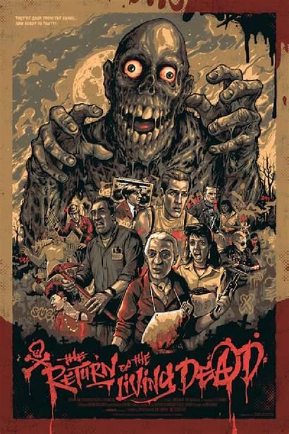 Horror Dead Return Living Poster Posters Fan