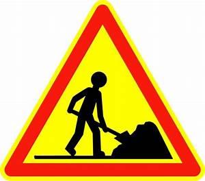 Code De La Route Signalisation : panneaux temporaires apprendre code de la route en ligne ~ Maxctalentgroup.com Avis de Voitures