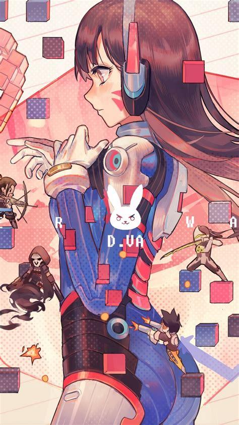 Overwatch Wallpaper Anime - 1080x1920 overwatch d va headphones profile
