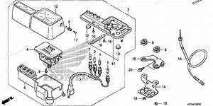 Honda Motorcycle 2009 Oem Parts Diagram For Meter