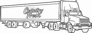 Truck Coloring Pages Bestofcoloringcom