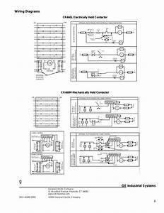 Ge Industrial Solutions Cr460 Lighting Contactor Series User Manual