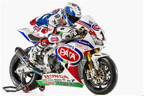 Pata Honda Motorcycle 2015 Team Wsbk Riders Presented In Italy
