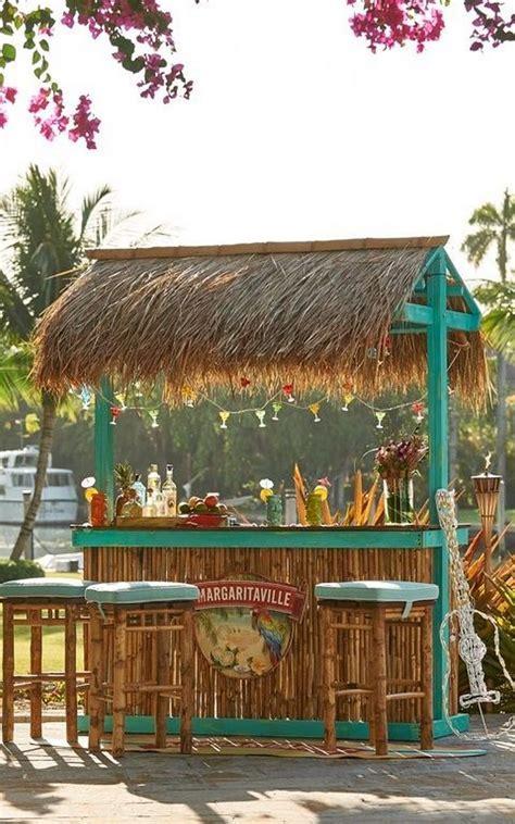 Backyard Tiki Bar by Build Your Own Backyard Tiki Bar Your Projects Obn