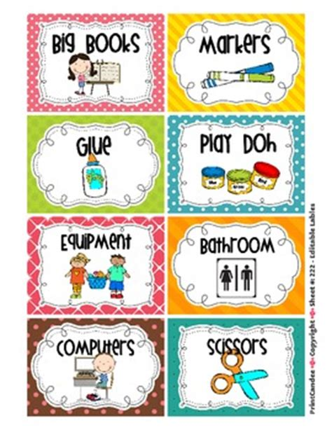labels for the whole classroom including book bin labels 447 | original 307501 1