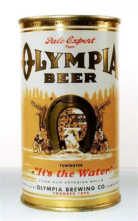 history   olympia brewing   tumwater