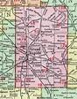 Kent County, Michigan, 1911, Map, Rand McNally, Grand ...