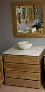 salle de bain meubles la maison du teck meuble et With meuble salle de bain 75 cm bois