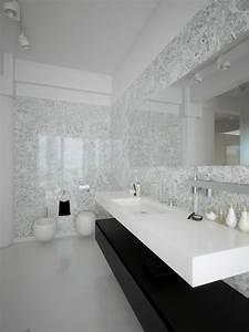 faience blanche salle de bain conseils et idees de decoration With faience blanche salle de bain