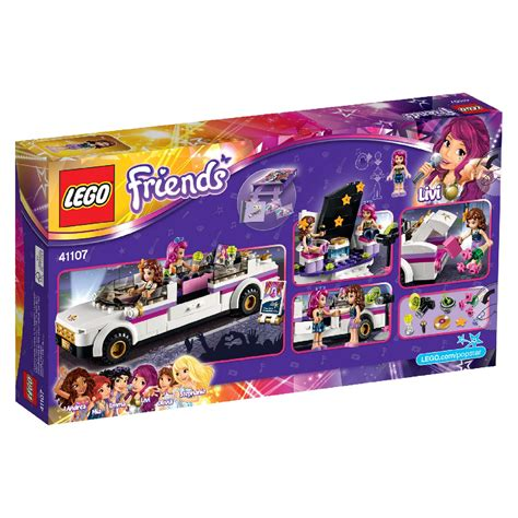Lego Friends Pop Star Limo 41107  £2000  Hamleys For
