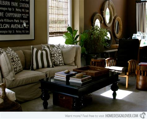 15 relaxing brown and tan living room designs decoration