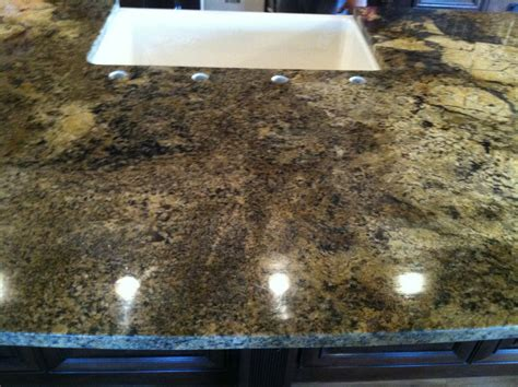 another awesome seam in a granite countertop by granite