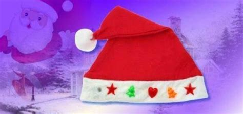 Topi Santa Dewasa topi santa natal lu menyala led 162