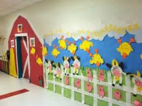 Spring Classroom Door Decorations Ideas by Farm Theme Preschool Bulletin Board ıdeas 3 171 Funnycrafts