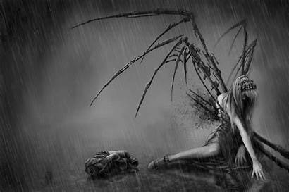Engel Angel Fallen Sad Dark Anime Angels