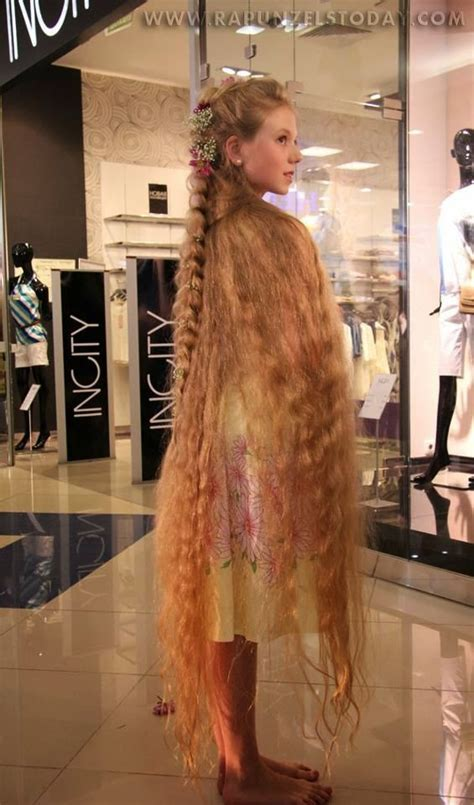 Hair Flooring   the longest of long hair!