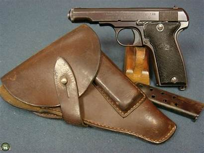 French Mab Pistol Holster Marked Nazi Pre98