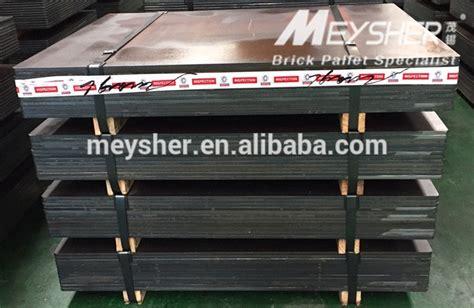 steel pallets  concrete block making machine block