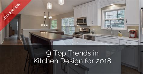best wood for kitchen cabinets 2018 9 top trends in kitchen design for 2018 home remodeling
