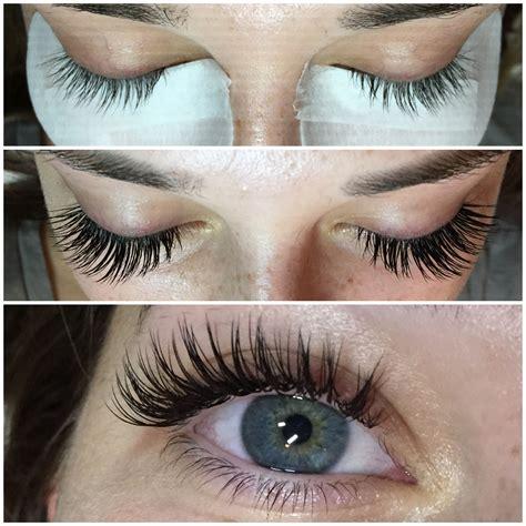 Eye Lash beautiful eyelash extensions before and after eyelash