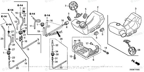 Honda Small Engine Parts Gxn Oem Diagram For Fuel