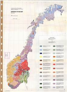 Soil Map Norway - Jordbunnskart - Esdac