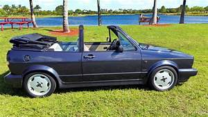 Volkswagen Cabrio Cabriolet Convertible Germany Diesel