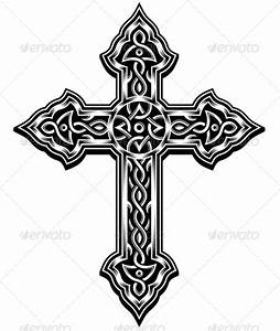 Ornate Cross Vector by vectorfreak | GraphicRiver