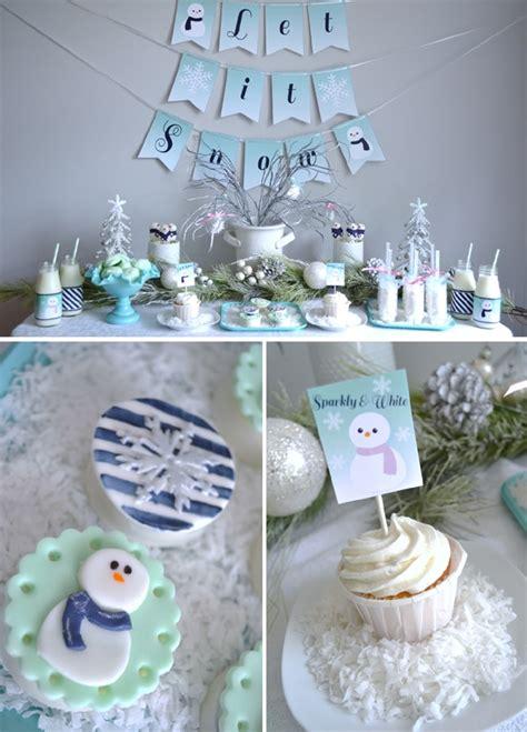 29 Winter Wonderland Birthday Party Ideas  Pretty My
