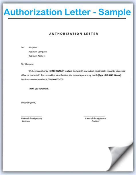 permission letter  authorization  permission