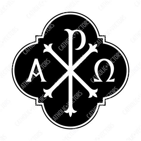 alpha omega chi rho catholic vectors